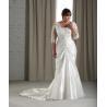 China Short Sleeves Plus Size Bridal Dress wholesale