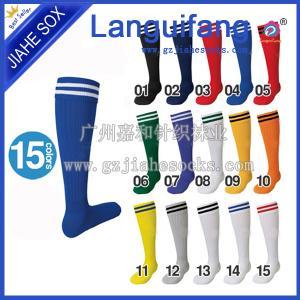 China Professional Socks Manufacturer Custom Design Cotton Soccer Socks on sale
