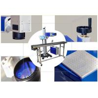 China YAG Industrial Laser Engraving Machine, Air Switch Laser Coding Machine wholesale