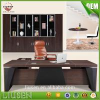China 2017 superior quality competitive price modern executive desk CEO office desk wholesale