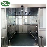 China High Performance Cleanroom Air Shower Tunnel With Automatic Sliding Door on sale