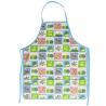 China 45*60 cm Cute Carton Printed 100% Cotton Bib Aprons Child Kitchen Aprons wholesale