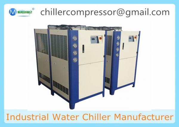 Quality 10HP ,8TR Industrial Plastic Injection Moulding Water Chiller Air Cooled Chiller for sale
