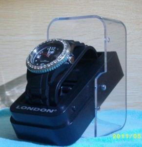 China Watch Packing Box Plastic Box Transparent Gift Box on sale