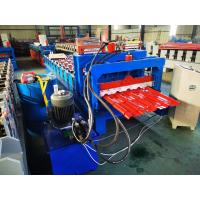 China Steel tile roll forming machine CNC control style on sale