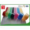 CE heavy duty Adhesive Hook and Loop Tape , hook & loop fastener colored