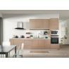 China 18mm E1 grade white MFC melamine face chipboard Kitchen Cabinet wholesale