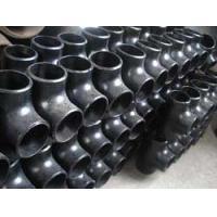 China ASTM A234 WPB Pipe fitting carbon tee wholesale