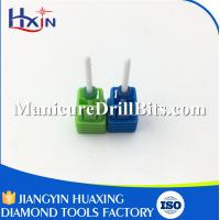 China Small Barrel Ball Type Ceramic Nail Drill Bit For Thinning Nail Fashionable Style wholesale