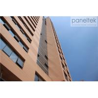 China External Decorative Terracotta Facade Panels , Exterior Wall Cladding Sheets wholesale