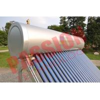 China Pvc Pipe Solar Water Heater Glass Tubes , Home Solar Water Heating Systems wholesale