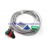 China OEM Medical Equipment Parts GE Condigurated Buckle Style 5 Leads Cables wholesale