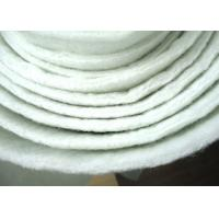 Non woven micron dust filter cloth polyester filter media Anti acid ISO