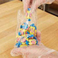 "China 5"" X 9"" Candy Plastic Flat Bags Clear Film Small Size With High Durability wholesale"