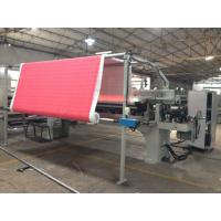 China Industrial Fabric Cotton Automatic Rolling Machine device 200 W 15 M/Min Roll Speed wholesale
