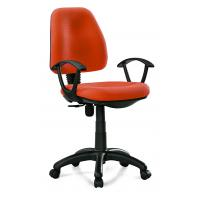 China Manager & Staff Fabric Computer Chair , Modern Orange Fabric Task Chair wholesale