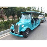 China 8 Seats Classic Golf Cart Club Car Golf Buggy Blue Color With 1165mm Rear Tread on sale