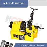 China SQ40 Electric Portable Pipe Threading Machine of 1/4-1 1/2,SQ32 Steel Bar Thread Cutting Machine on sale