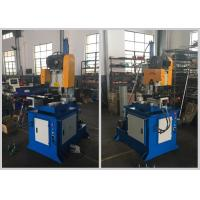 China Custom Semi Automatic Pipe Cutting Machine Two Way Clamps Low Noise Low Pollution on sale