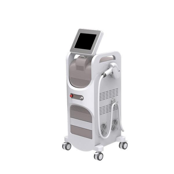 Quality 808nm Portable Laser Hair Removal Machine / Stationary Laser Waxing Machine for sale
