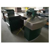 China Stainless Steel Supermarket Checkout Counter wholesale