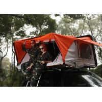 China 280G Polyester Cotton Canvas Car Roof Pop Up Tent , Light Auto Roof Top Tent wholesale