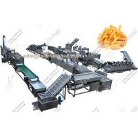 China Fully Automatic French Fries Production Line|French Fries Making Machine For Sale wholesale