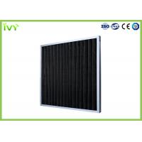 China Chemical Activated Carbon Air Filter F1 DIN 53438 Flammability To Remove Odors on sale