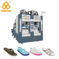 China 8 Stations Shoe Sole Making Machine Production Line For EVA Slipper / Sandals / Boots wholesale