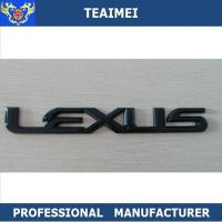 China Professional Durable Black Custom Car Emblems Eco Friendly wholesale