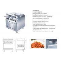 Round Marine Electric Equipment Marine Stainless Steel Cooking Range W/Oven