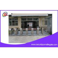 China Bidirectional Access Control System Turnstile Gates With RFID Card Reader on sale
