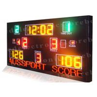 China Multi Function LED Basketball Scoreboard High Visibility 1300mm X 2000mm X 100mm wholesale