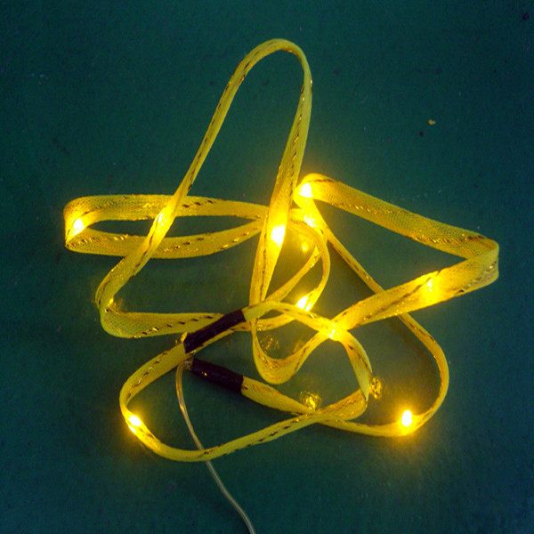 Quality High quality Yellow decorative butterfly led lights for sale