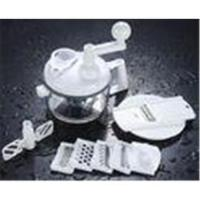 China White Kitchen multifunctional Aid tools vegetable slicer Grater with plastic handle wholesale
