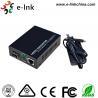 China 10 / conversor dos meios dos ethernet da fibra de 100M, ethernet ao conversor dos meios da fibra de SFP wholesale