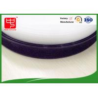 China 25 meters per roll Plastic hook and loop ,  sticky hook and loop fire retardant common color wholesale