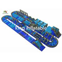 China Customized Gaint Inflatable Ostacle Course Sport Games PVC Outdoor For Adults wholesale