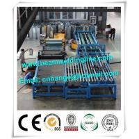 China Automatic HVAC Duct Manufacturing Line , Wind Tower Production Line Make Heating Duct on sale