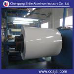 China el color cubrió precio barato prepintado de la bobina de aluminio de la hoja wholesale
