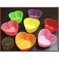 China Silicone Kitchenware, Heart Shaped Cupcake Pan, Cake Moulds, Soap Mold wholesale