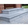 China Light Grey White Granite Slab Steps , Granite Stone Slabs For Outdoor Steps wholesale