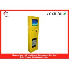 IP65 Elegant Bill Payment Kiosk Steel Recharging For Mobile Phone