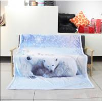 Comfortable Flannel Blanket Soft Blankets For Kids 100% Polyester Pill Resistant
