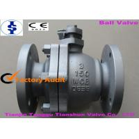 China Electric / Pneumatic Operated DN150 WCB Cast Steel Ball Valve With Handle wholesale