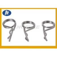China Stainless Steel Compression Helical Spring / Torsion Spiral Spring With White Nickel Plated wholesale
