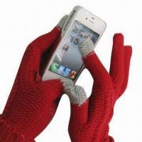 China Touch Gloves for iPhone , Measures 24x9cm wholesale