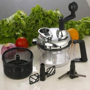 kitchen king pro manual food processor