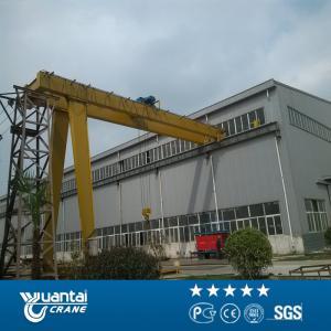 China Yuantai semi gantry crane design on sale