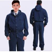 China Cotton Flame Retardant Insulated Coveralls , Acidproof Fire Protective Clothing wholesale